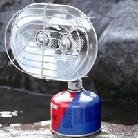 double head gas heating stove outdoor fishing portable heaters baking stove camping equipment