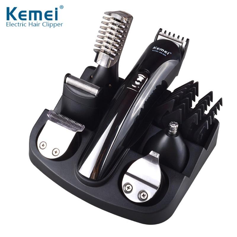 Cortador de pelo multifunción, cuidado Personal del hogar, juego completo de recortador eléctrico, corte de pelo, herramienta para recortar el pelo de la nariz