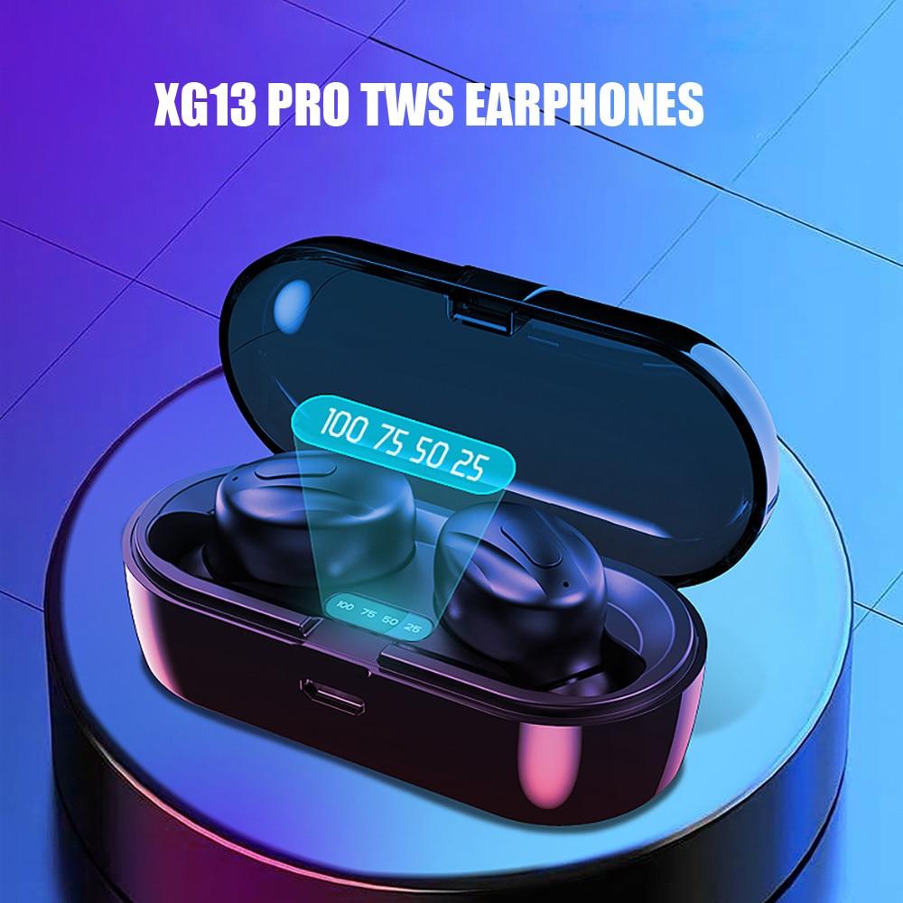 Auriculares inalámbricos Bluetooth 5,0 40 # Xg13 Pro, auriculares inalámbricos, Auriculares Bluetooth para correr, llamada Hd Hifi Digital Sport
