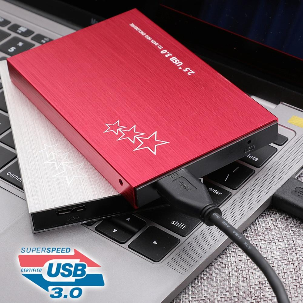 500G/1T/2T Portable USB 3.0 External Hard Disk Drive 2.5inch HDD for PC Laptop