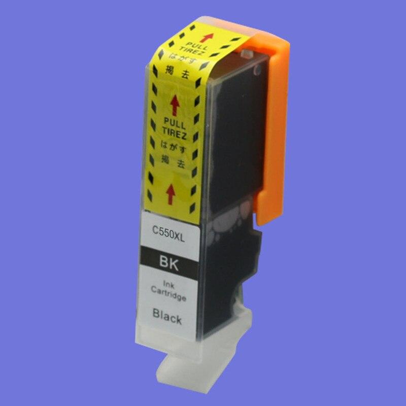 Cartuchos de tinta pgi 550xl cli 551xl compatíveis para impressora a jato tinta canon pixma mg7150 ip7250 mx925 ip7250 mx925 mg6350 mg5450