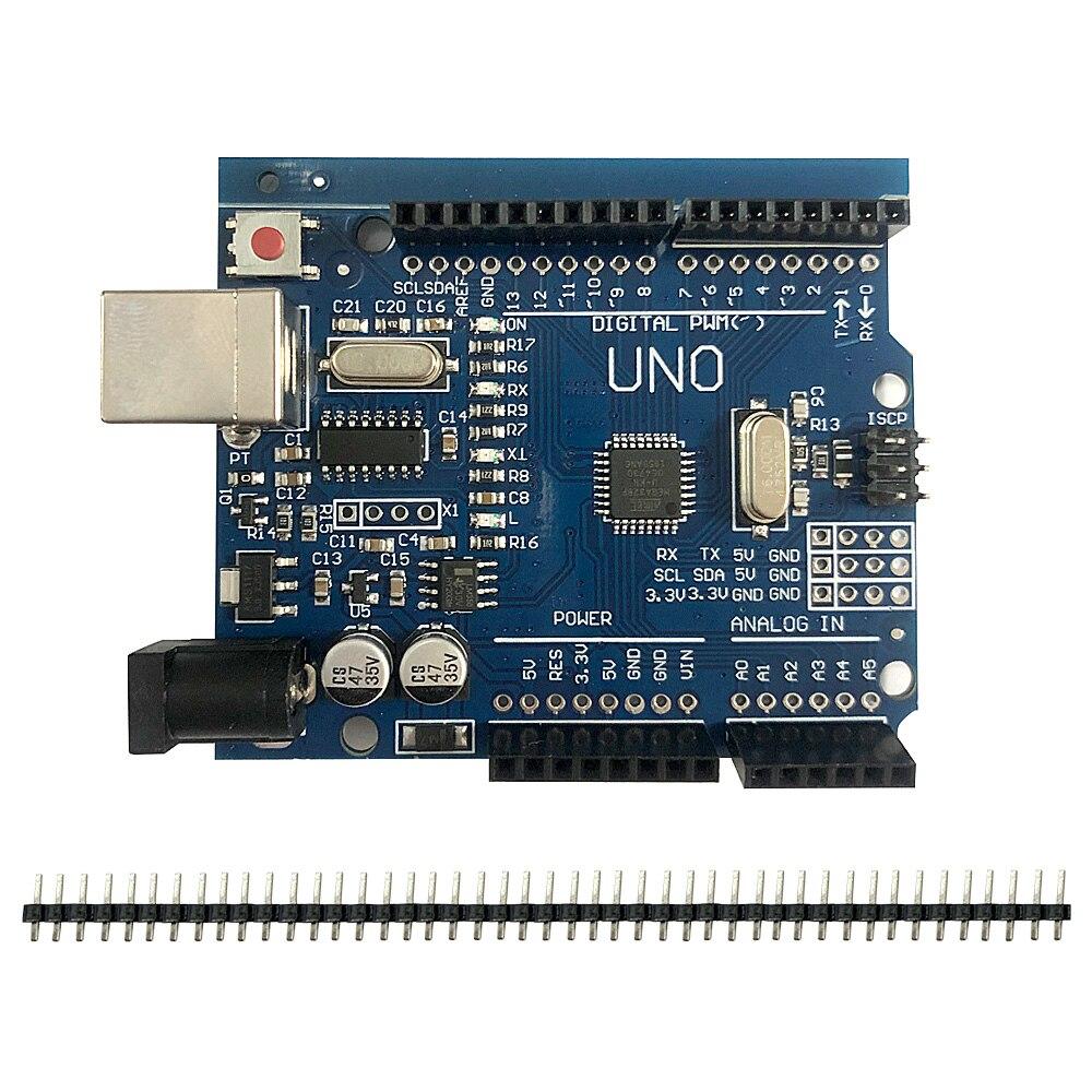 Arduino UNO R3 CH340G+MEGA328P SMD Chip 16Mhz UNO Arduino R3 Development Board USB CABLE ATEGA328P