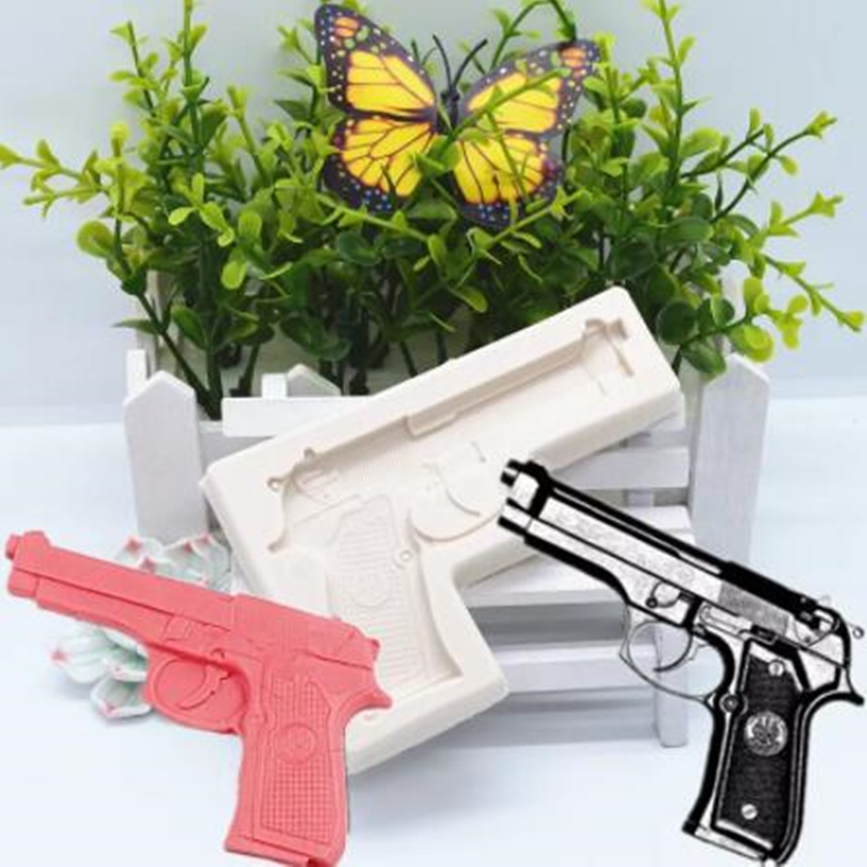 Пистолет, силиконовое искусственное украшение, товары для рукоделия, кондитерские изделия для торта, инструмент для выпечки из смолы