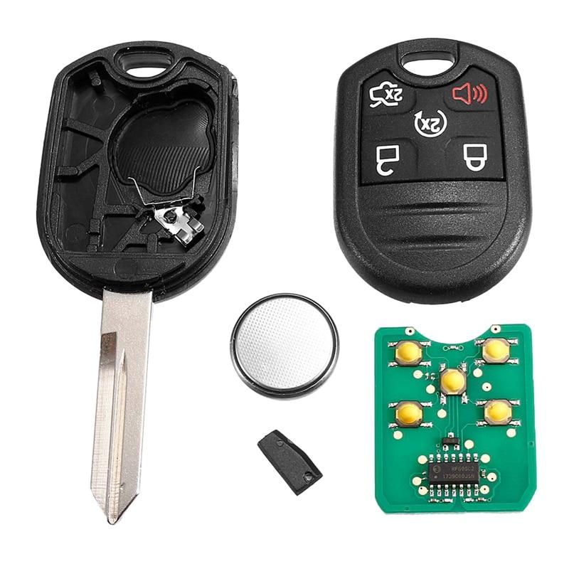 Mando a distancia con 5 botones Fob con Chip de 80 bits 4D63-6F, 315MHz CWTWB1U793 para Ford Edge Fusion, para Link MKS MKX