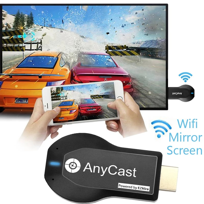 Anycast M2 Plus TV Stick Support For Miracast AirPlay DLNA 2.4G Wireless WiFi Display Dongle Receive