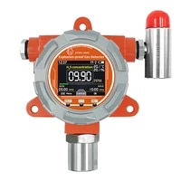 explosion proof led display hydrogen sulfide h2s gas detector with honeywell rs485 output