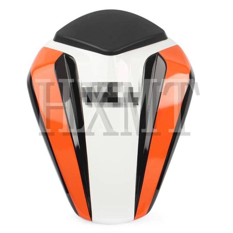 ل KTM Duke 125 200 390 KTM125 KTM200 KTM390 2012 2013 2014 2015 2016 دراجة نارية المقعد الخلفى المقعد الخلفي غطاء القلنسوة سولو الطربوش الخلفية