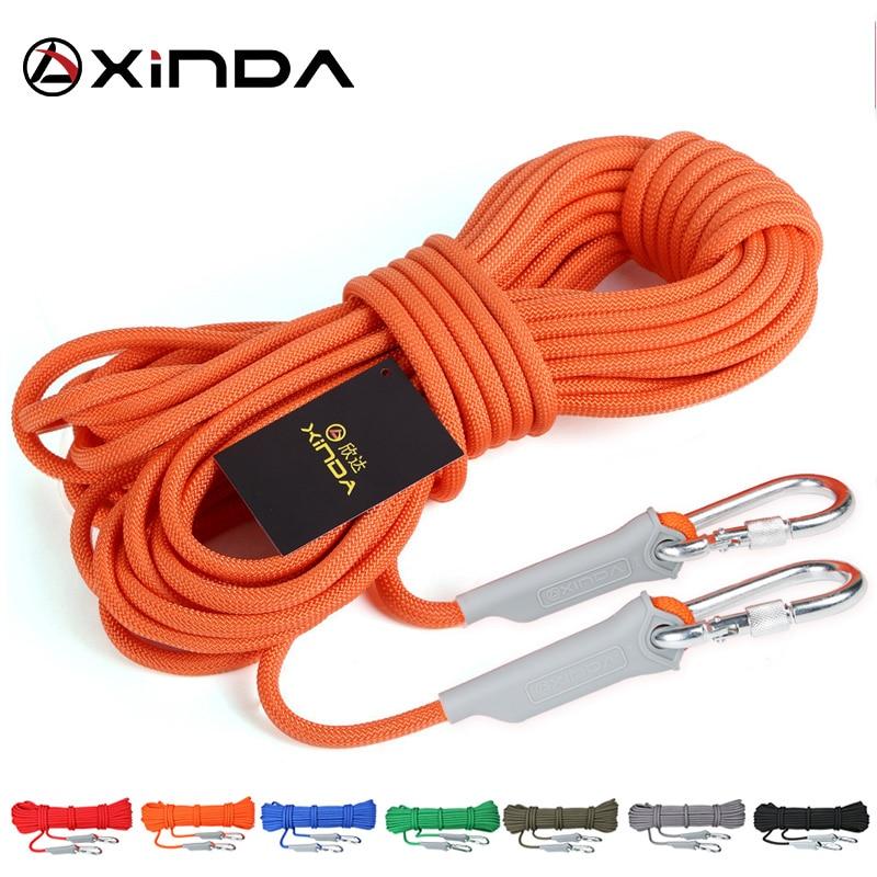 Xinda-cuerda Para Escalada En Roca De 10m Accesorio De Seguridad Profesional Para...
