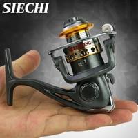 SIECHI Spinning Reel 5.2:1 LK150 Triple Disc 190g Super Long Casting Fishing Carp Fishing Reels