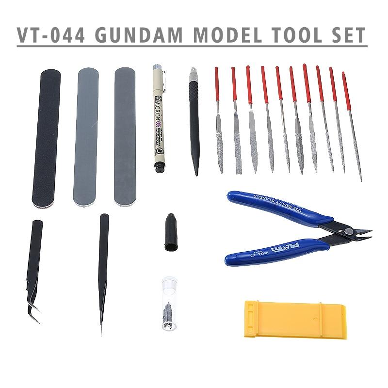 19pcs Craft Repair Fix Kits Modeler DIY Basic Tools Sets For Gundam Modeler Hobby Modelling Tools Set DIY Accessories
