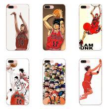 For Xiaomi Redmi Mi 4 7A 9T K20 CC9 CC9e Note 7 8 9 Y3 SE Pro Prime Go Play Slim Silicone Case Anime Play Baketball Slamdunk