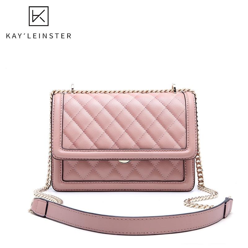 Couro genuíno das mulheres crossbody saco de moda luxo sacos de ombro designer corrente feminina bolsa mensageiro diamante treliça bolsas