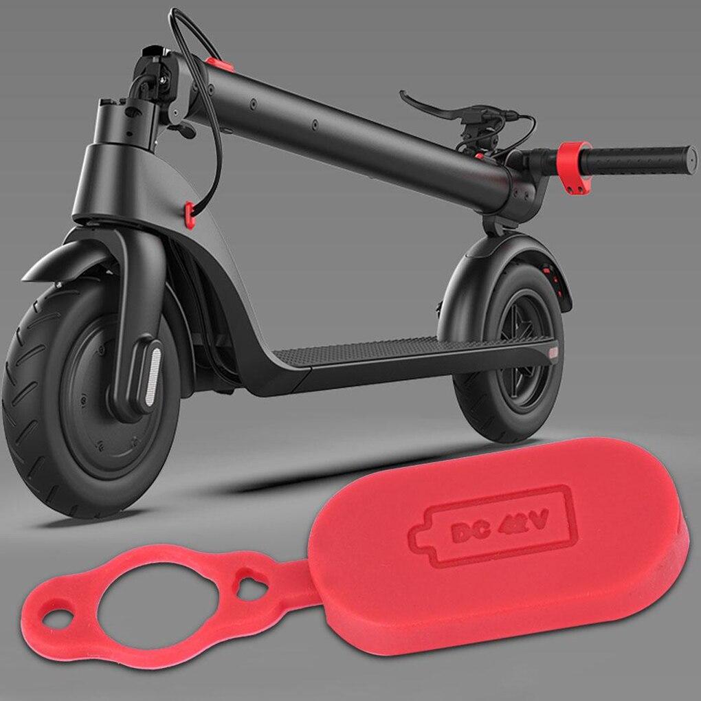 Зарядное устройство Порт резиновая крышка Пылезащитная заглушка Силиконовая Защитная крышка для Xiaomi Mijia M365 электрический скутер сменный аксессуар