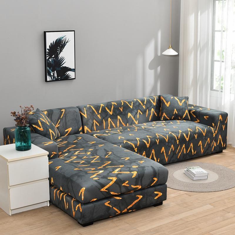 الهندسة الأريكة غطاء أريكة لغرفة المعيشة تمتد الغلاف أريكة عدم الانزلاق كوش غطاء الاقسام غطاء أريكة حامي أثاث