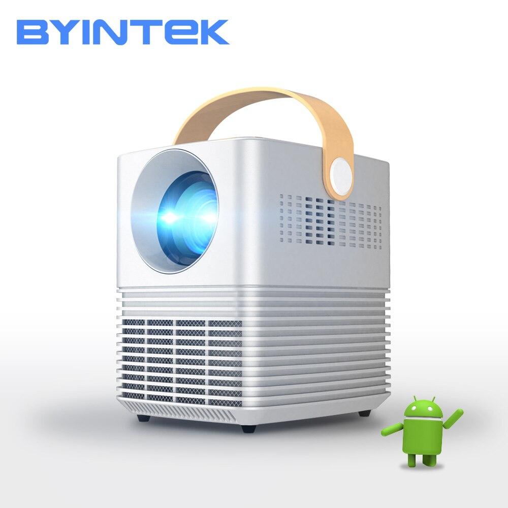 BYINTEK Mini Proyector C720 portátil de cine en casa Beamer llevó el Proyector para Smartphone 1080P 3D 4K Cine en Stock en Brasil