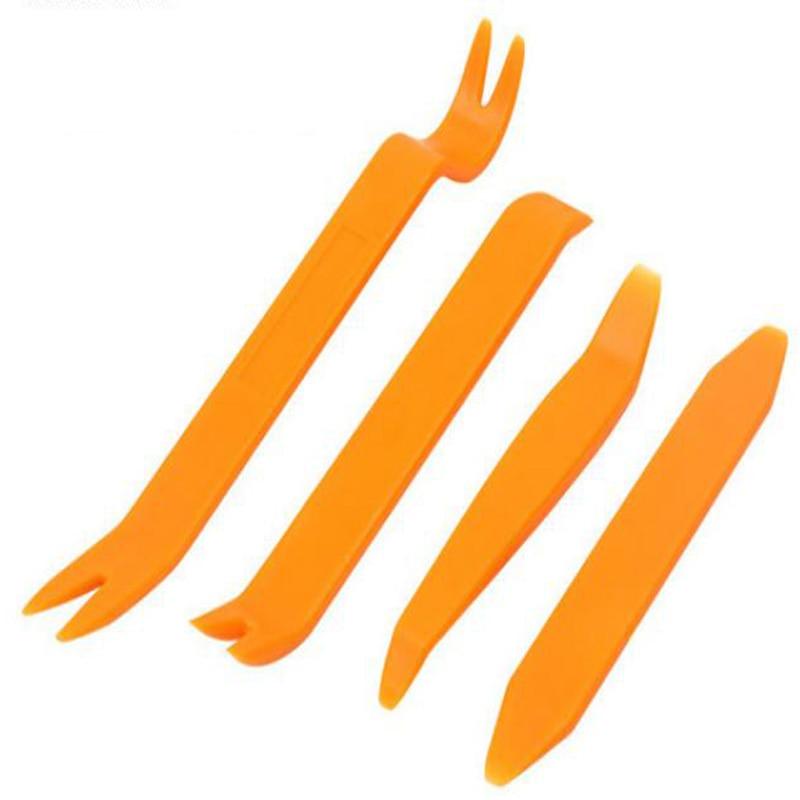 4 шт., набор инструментов для снятия автомобильной магнитолы