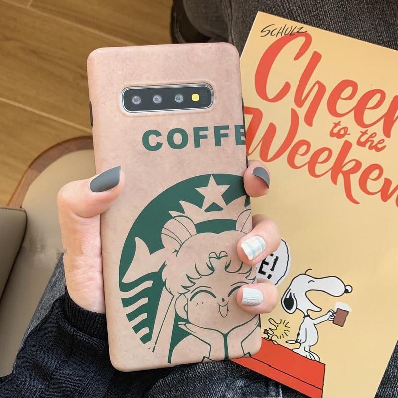 DCHZIUAN кофе Сейлор Мун чехол для Samsung Galaxy Note 10 8 9 чехол для Samsung Galaxy Note 10 S10 S8 S9 Plus чехол для телефона