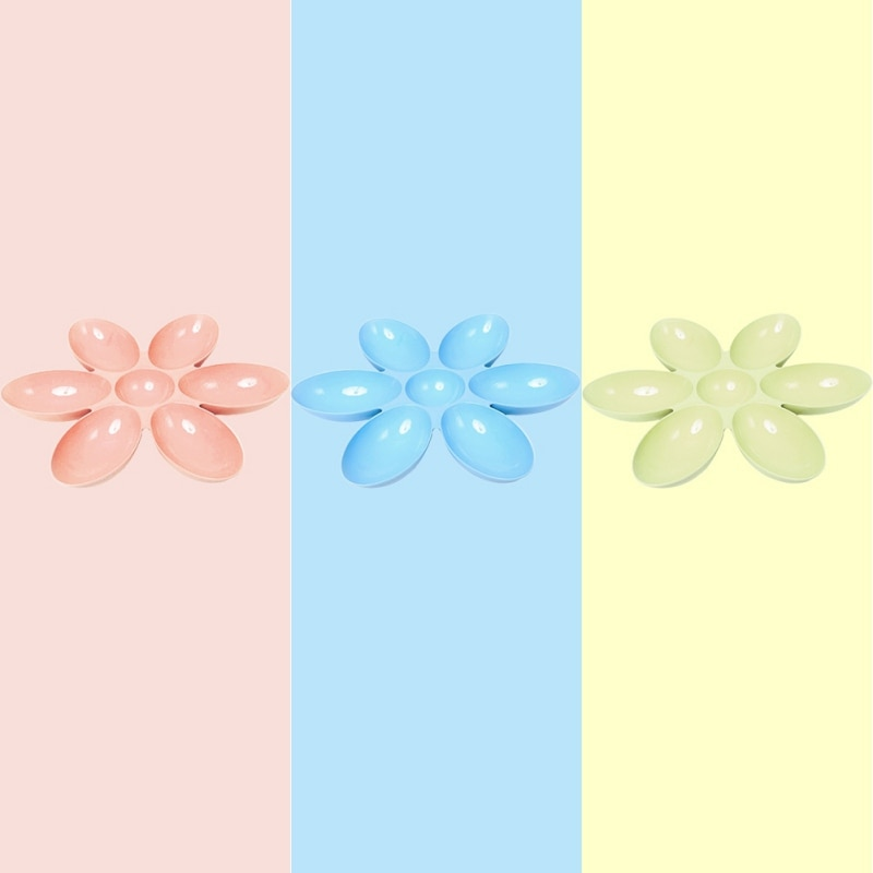 6 in 1 Petal Shape Bowl for Water or Food For Pet Image