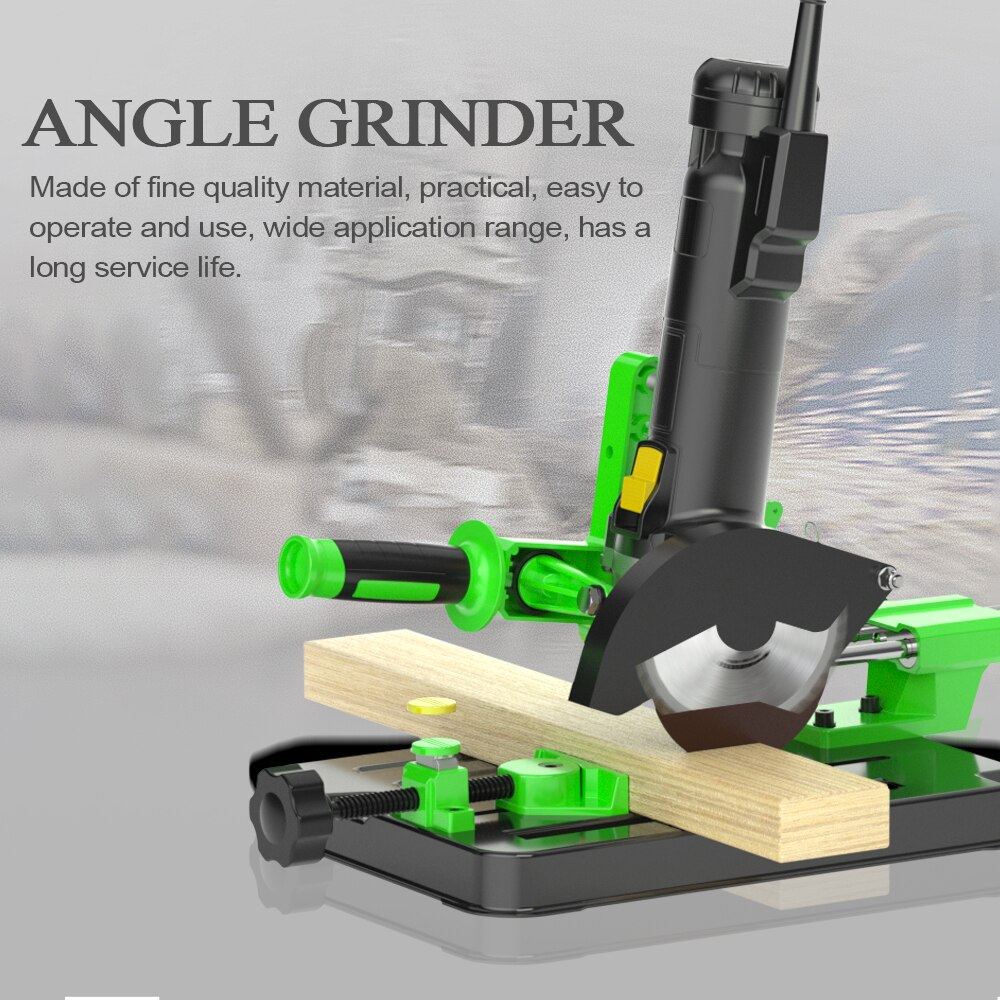 Upgrade Angle Grinder Stand Bracket Holder Metal Cutting Machine Support Power Tools Accessories for 100 and 125 Angle Grinder enlarge