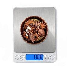 1/2/3kg 0,01/0,1g Digital Waage LCD Elektronische Waage Mini Präzision Gramm Gewicht balance Waage für Küche Tee Backen