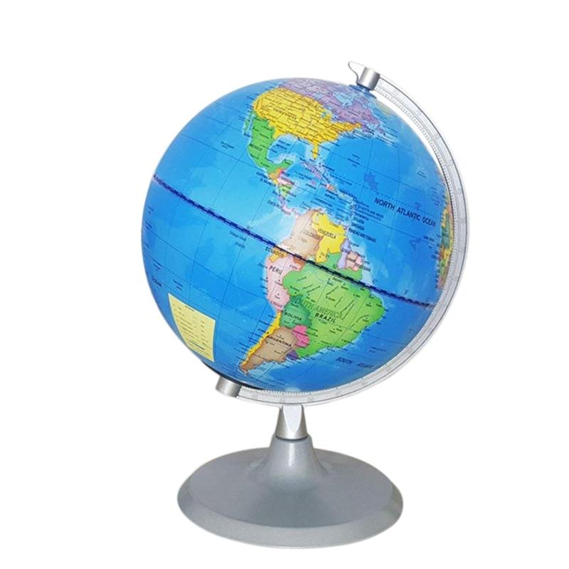 Globo mundial constelação globo com mapa detalhado do mundo para crianças educacional astronomia interativa mapa geográfico globo