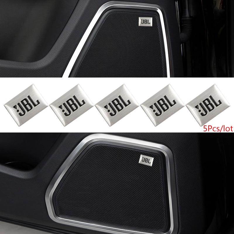 5 pçs/lote-Car Styling Car Audio Decorar Adesivo Decalque Apto Para Citroen C2 3 4 5 6 C4L DS3 4 5 6 DS5LS C-ELYSEE Auto Acessórios