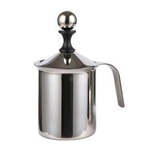 400 мл ручной вспениватель молока Нержавеющаясталь молока кувшин для молока в виде молочной пены сетки Кофе пенообразоват Кухня в электрике