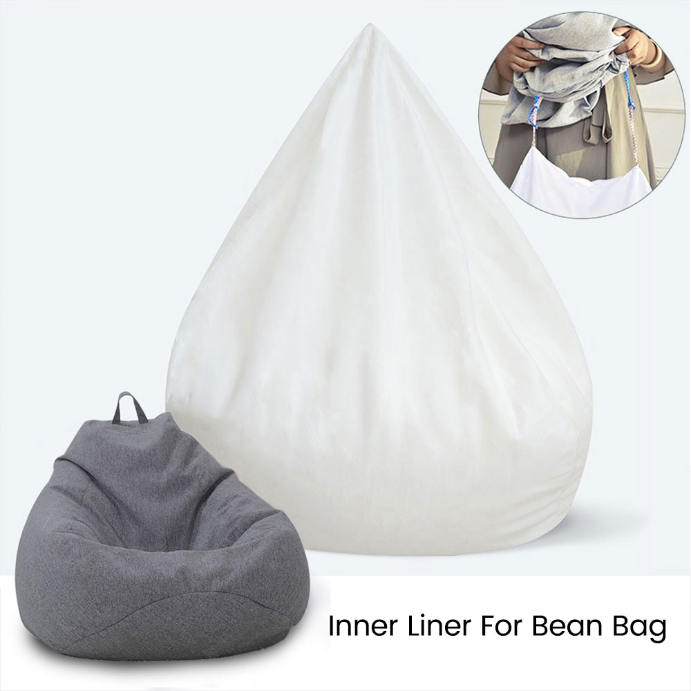 Waterproof  Lazy BeanBag Sofas cover Inner Lining (Filling not included )Suitable For Bean Bag Cover Stuffed Animal Toy