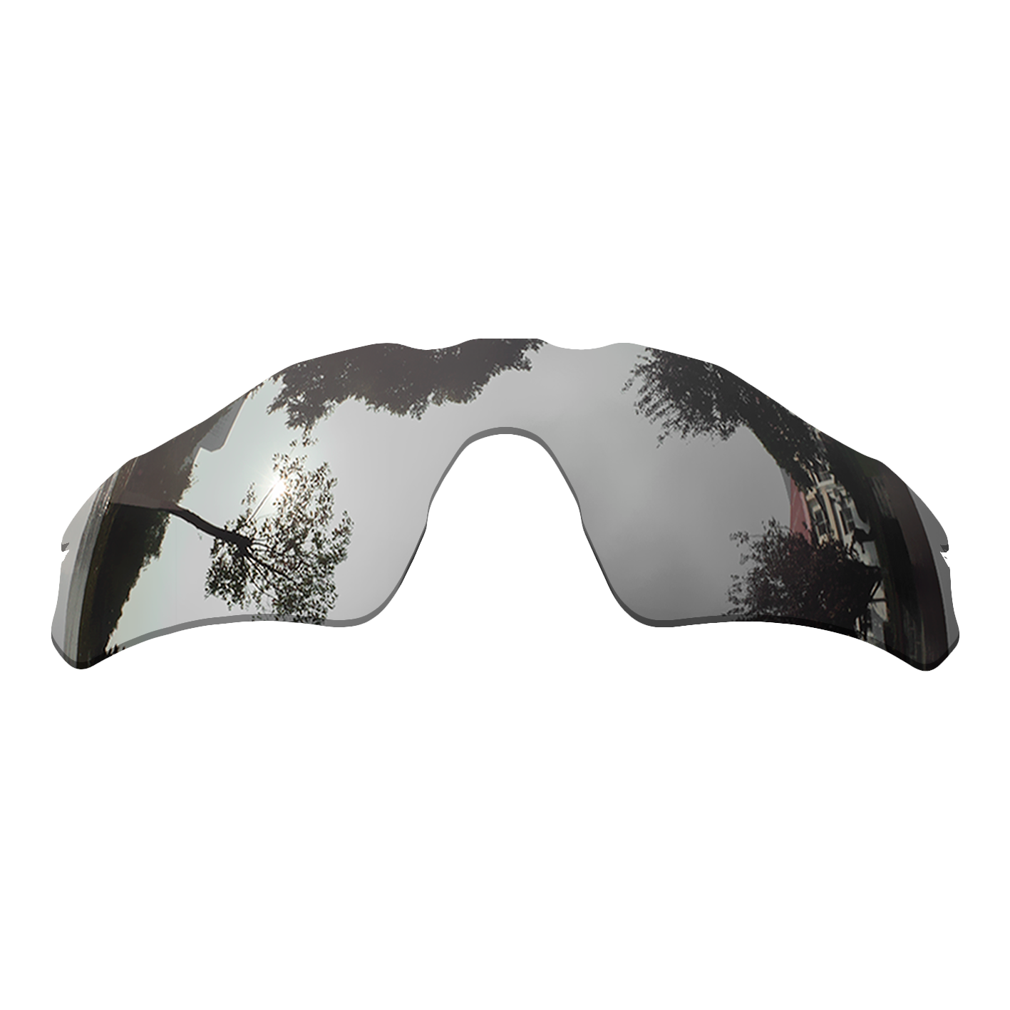 Polarized Replacement Lense For-Oakley Radar EV Path Sunglasses Frame True Color Mirrored Coating - Chrome Color Options