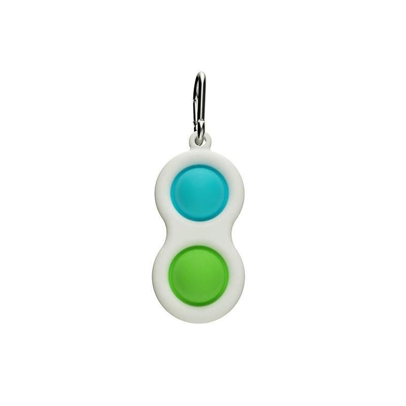 Push Pop Bubble Pop-It Sensory Toy Custom Pop Stress Keychain Leisure For Women Men Children enlarge