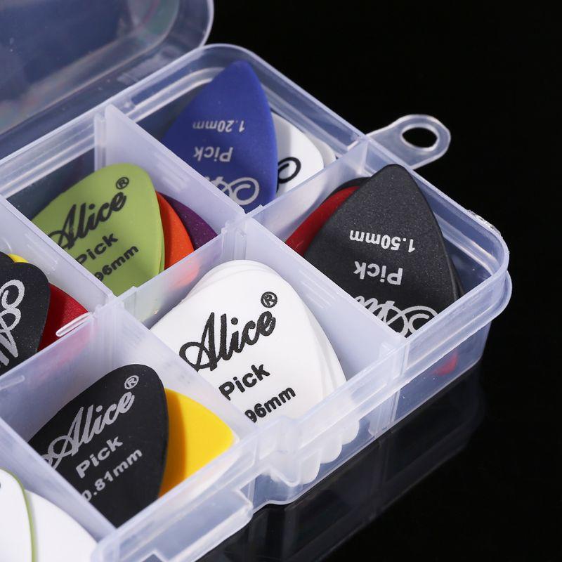 Guitarra elegir 40in1 caja conjunto plástico mezcla 0,58-1,50 Color al azar