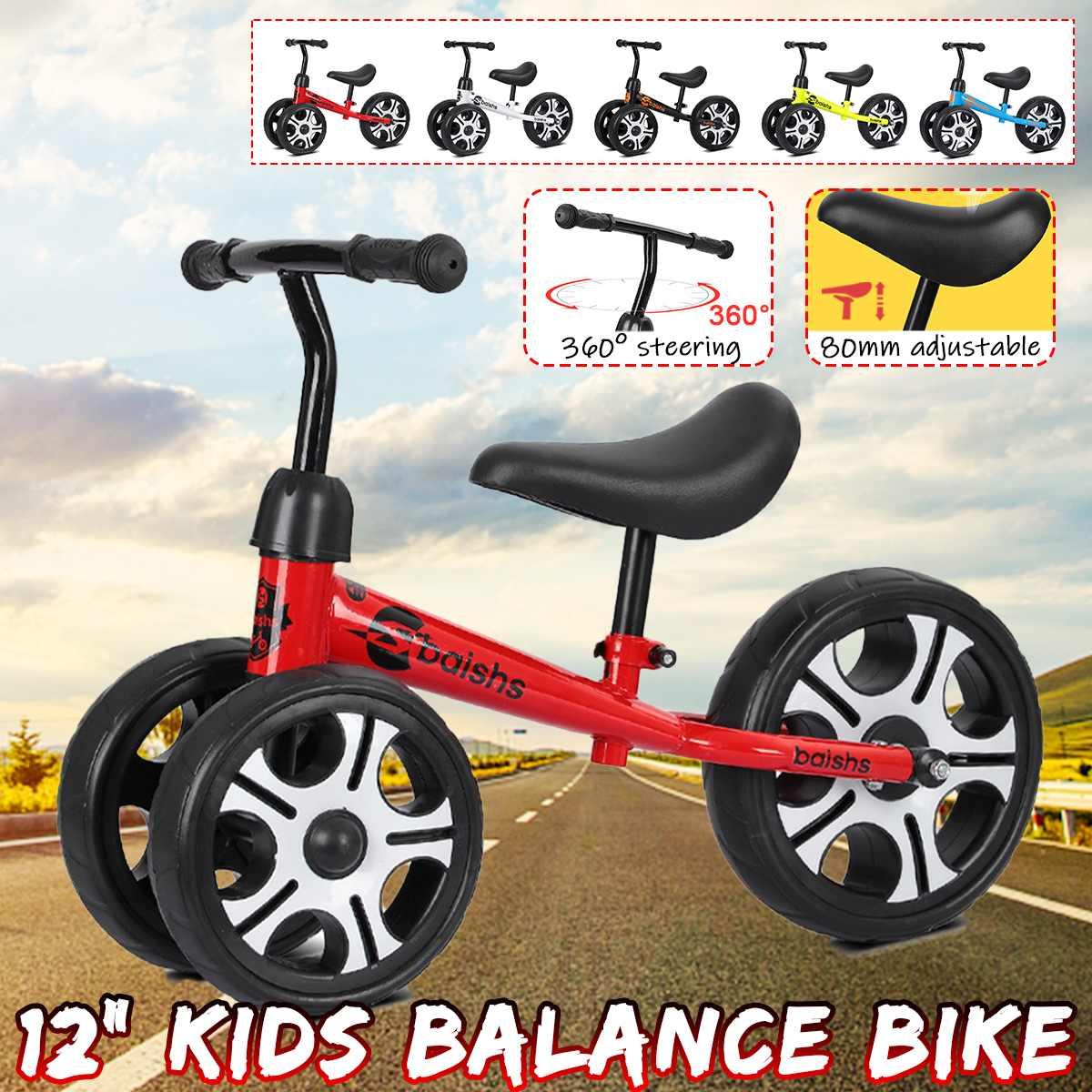 Andador para niños de bicicleta de equilibrio para bebés, juguete para andar en bicicleta, regalo de tres ruedas para niños de 2 a 6 años, bicicleta de carreras para aprender a andar