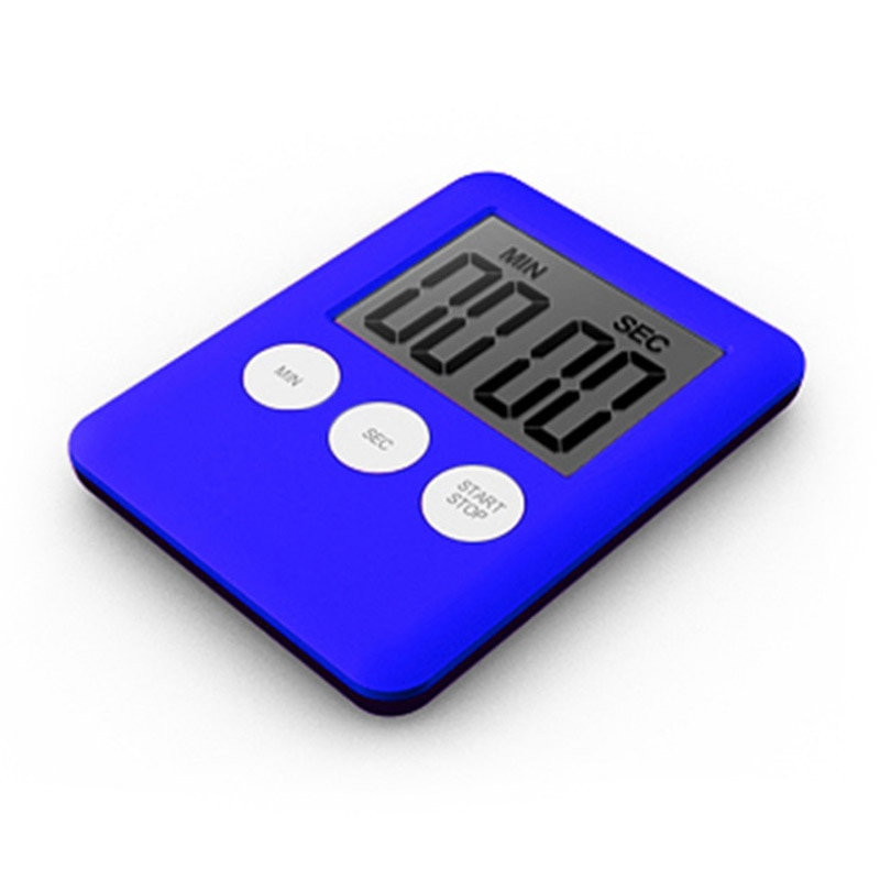 Reloj LCD Digital para cocina, ducha, resistente al agua, 7x5,3x0,9 cm