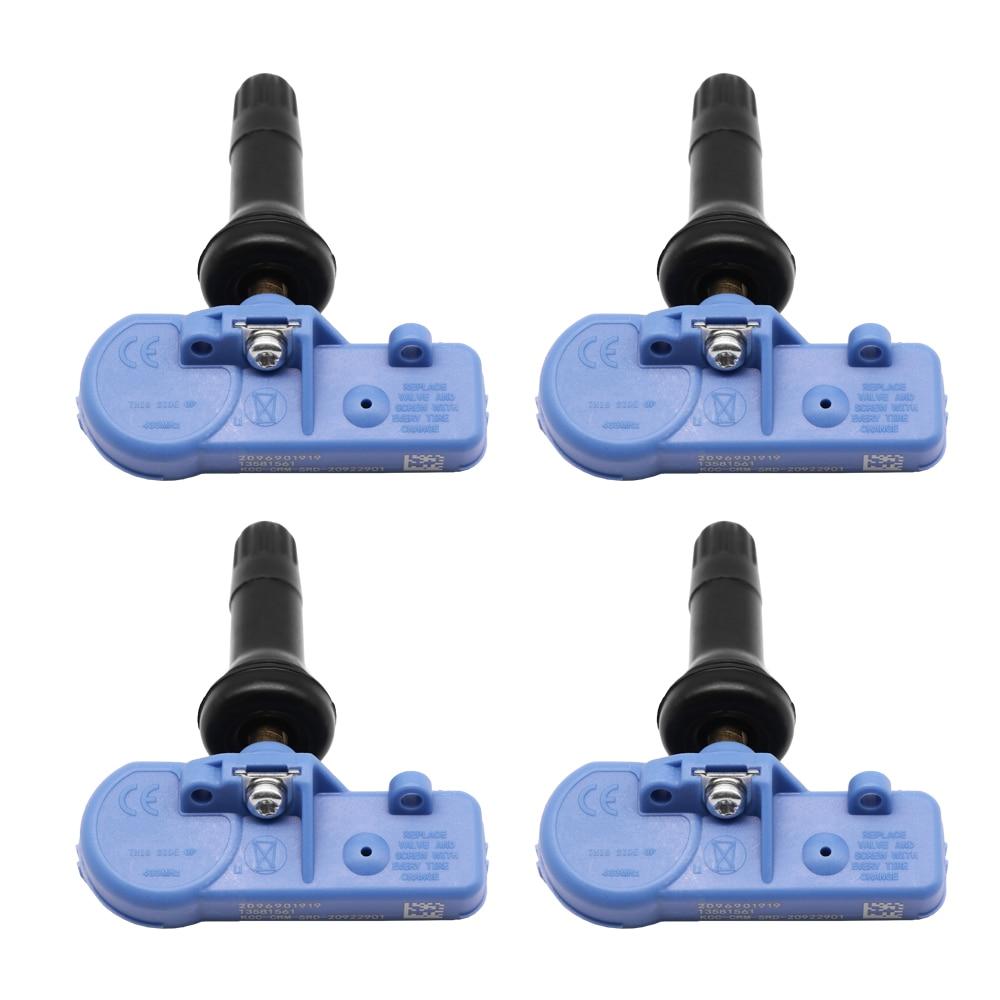 Sensor de presión de neumáticos para 2006-2019 Chevrolet Captiva 433MHz TPMS neumático Sensor de presión de aire 20922901