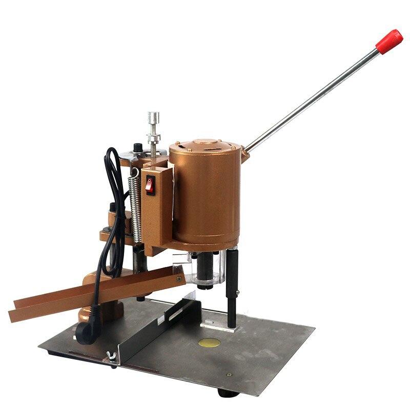Perforadora excavadora máquina de encuadernación perforadora perforador manual eléctrico máquina perforadora de un solo agujero colgante Certificado de menú