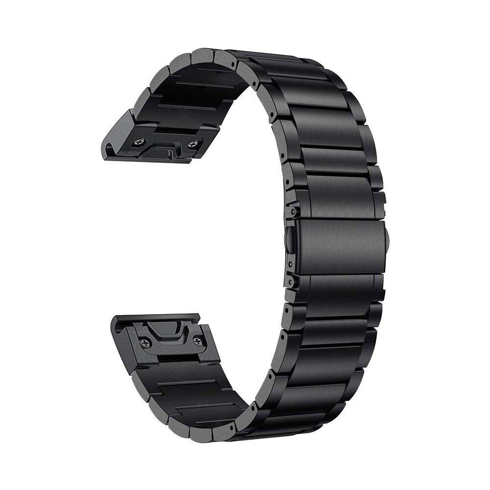Correa de Metal de titanio GORPIN, correa de reloj de liberación rápida de 20mm para Garmin Fenix 5S/5S Plus, reloj inteligente Fenix6S/6 S Pro