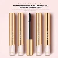 3d mascara lengthening black lash eyelash extension waterproof brush sweatproof beauty color gold makeup mascara long weari j1l7
