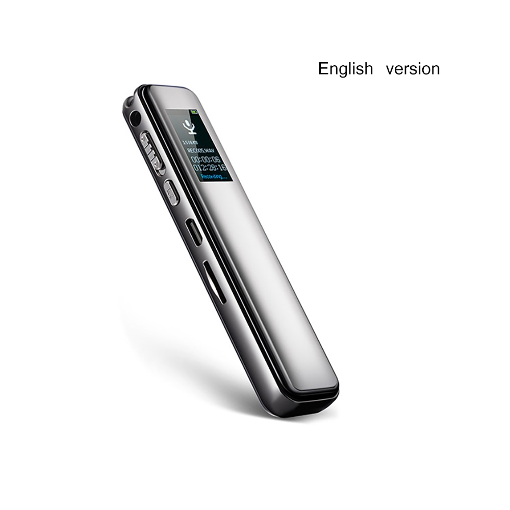 Digital Voice Recorder Voice Activated Recording  USB Flash Drive Audio Sound Dictaphone  Color Display Voice Recorder Portable enlarge