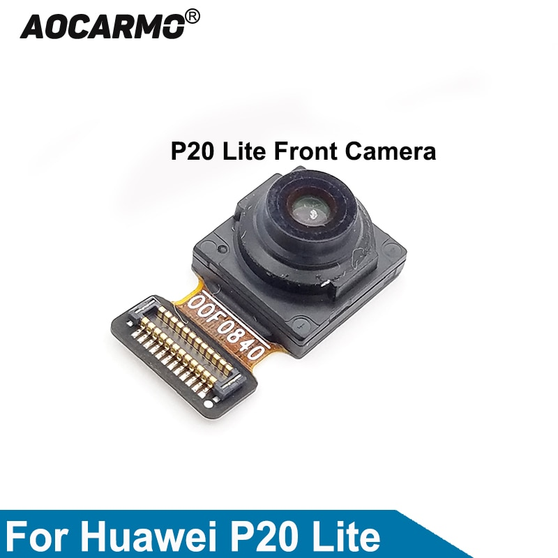 Aocarmo Front Camera Facing Small Camera For Huawei P20 Lite Flex Cable