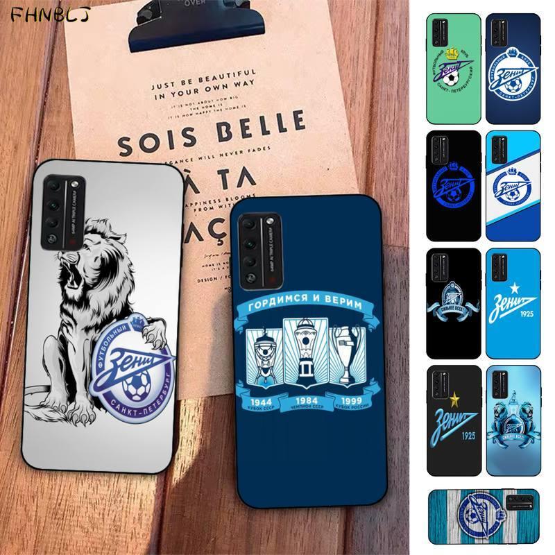FHNBLJ FC Zenit, bonita funda de teléfono con Logo brillante para Club de fútbol, para Huawei Honor 8x9 10 20 V 30 pro 10 20 lite view 7A 9lite PLAY