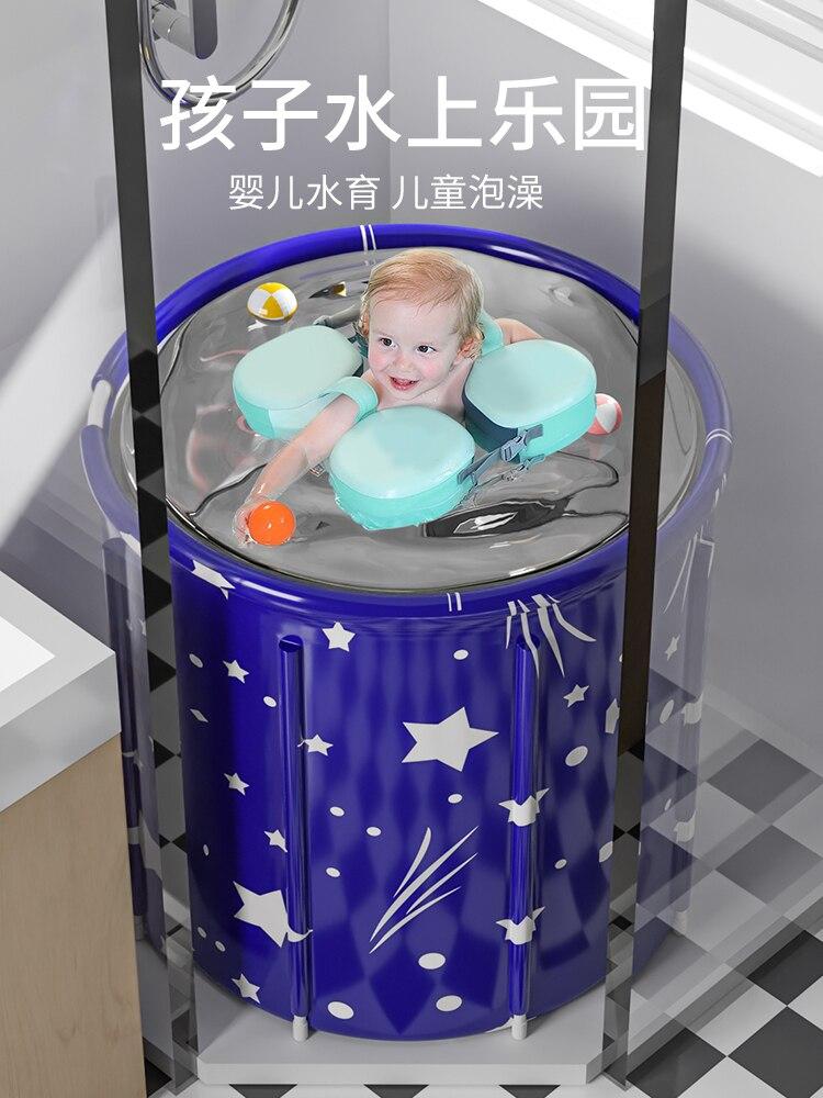 Бочка для ванны для взрослых Складная Бытовая бочка для ванны для взрослых детская ванночка для ванны Коврик для ванны для всего тела артеф...