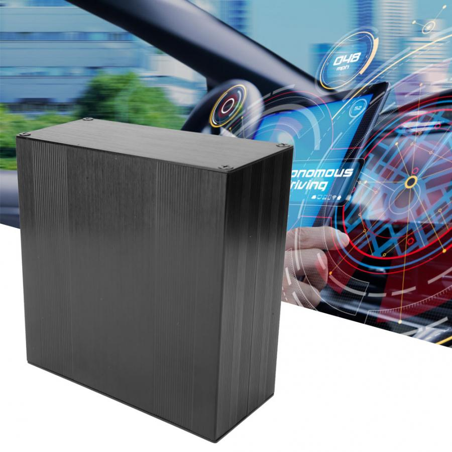 Aluminum Enclosure Electronic Box Aluminum Cooling Case Project Box for Amplifier GPS