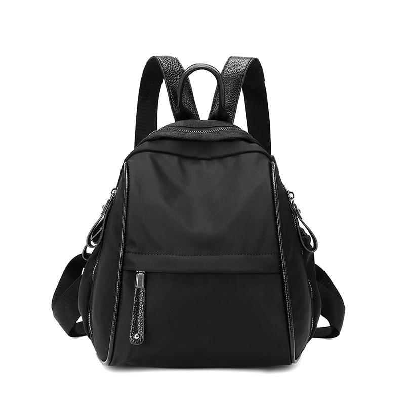 Новый модный роскошный женский рюкзак из ткани Оксфорд, женский черный рюкзак, рюкзак для женщин, школьный рюкзак