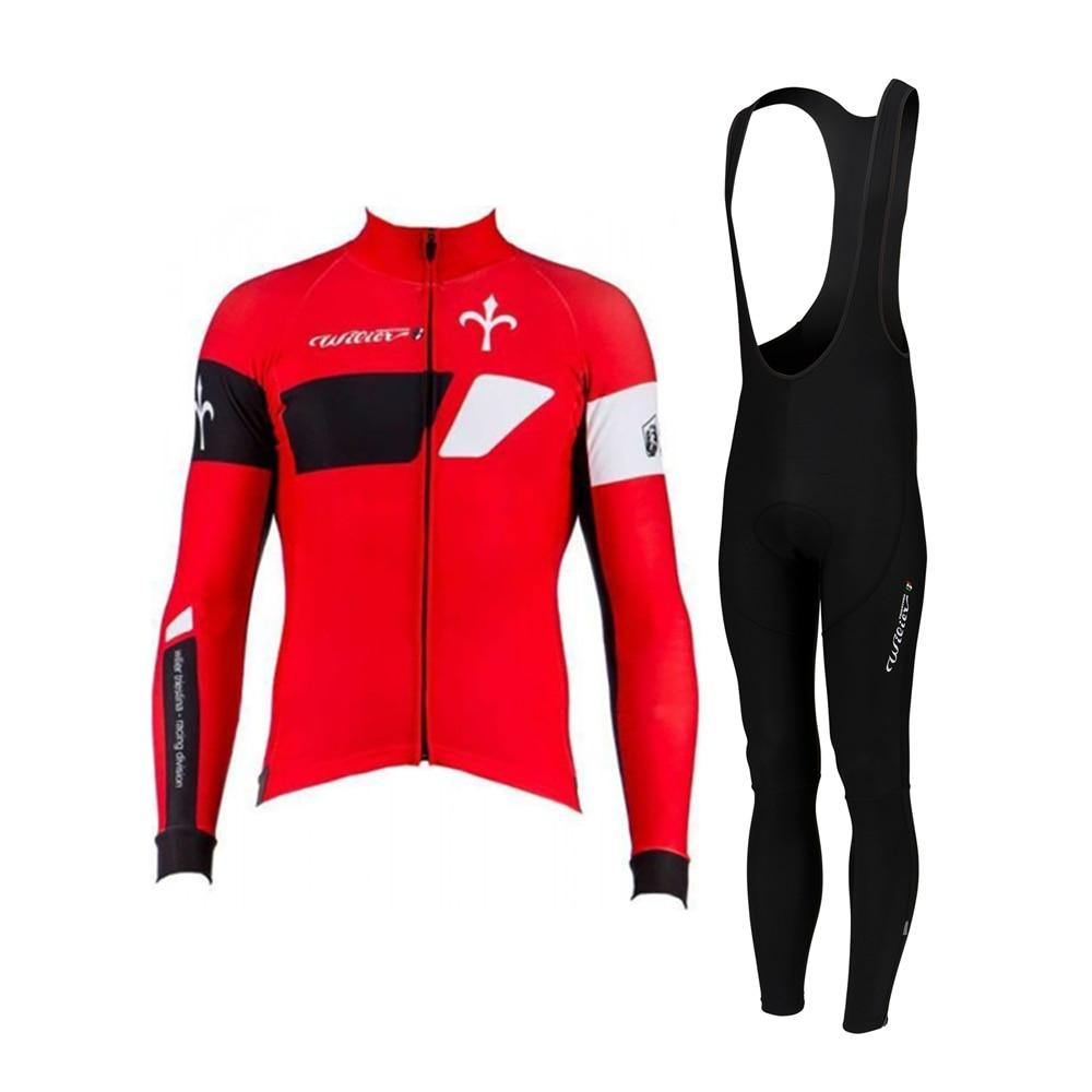 Wilier-Conjunto de jersey de ciclismo para hombre, equipo profesional de invierno, traje...
