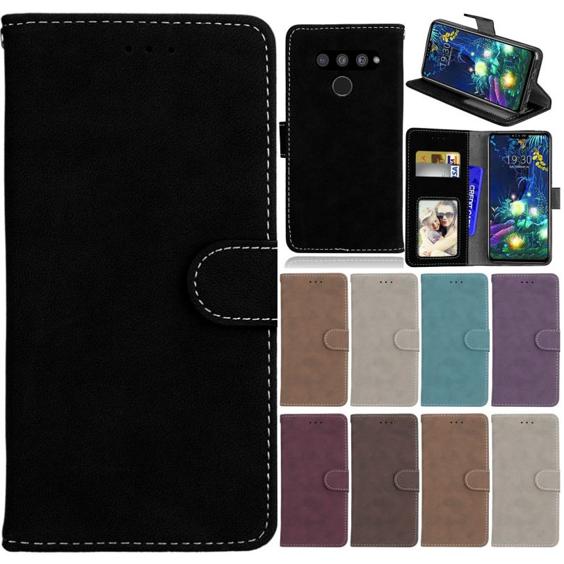 Простой матовый чехол для LG V50 V40 V20 V10 Q6 G7 G8 Stylo 4 5 кожаный чехол для телефона K40 K9 K11 K12 Plus K8 K10 2018 Nexus 5 5X P08H