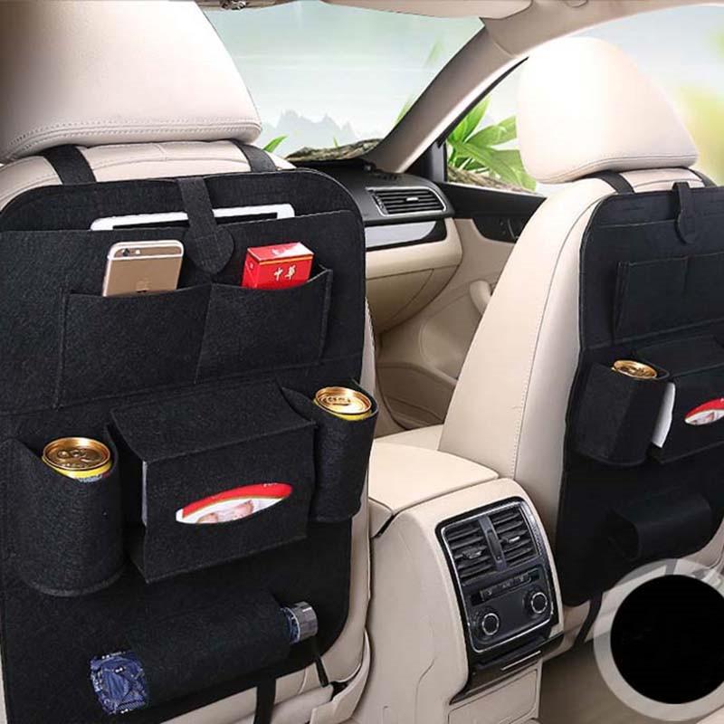 Автомобильный фетровый чехол для заднего сиденья многофункциональная отделка