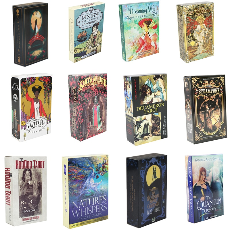 Карта Witch Tarot, карточка для гадания, персональное использование, карточка-Таро, настольная игра, английская версия, настольная игра, руководс...