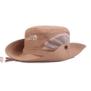 Fashion Bucket Hats Fishing Sports Vacation Cowboy Style Quick Dry Hiking Caps 2021 Summer Tactical Camping Climbing Hats
