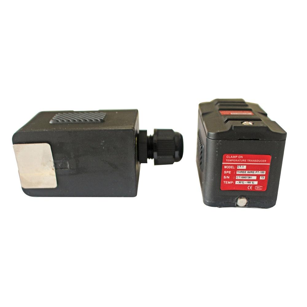 CT-1 الاستشعار بالموجات فوق الصوتية درجة الحرارة محول PT100 (DN50-6000 ،-40 ~ 160 ℃) ، تستخدم مع TUF-2000 سلسلة بالموجات فوق الصوتية مقياس الجريان