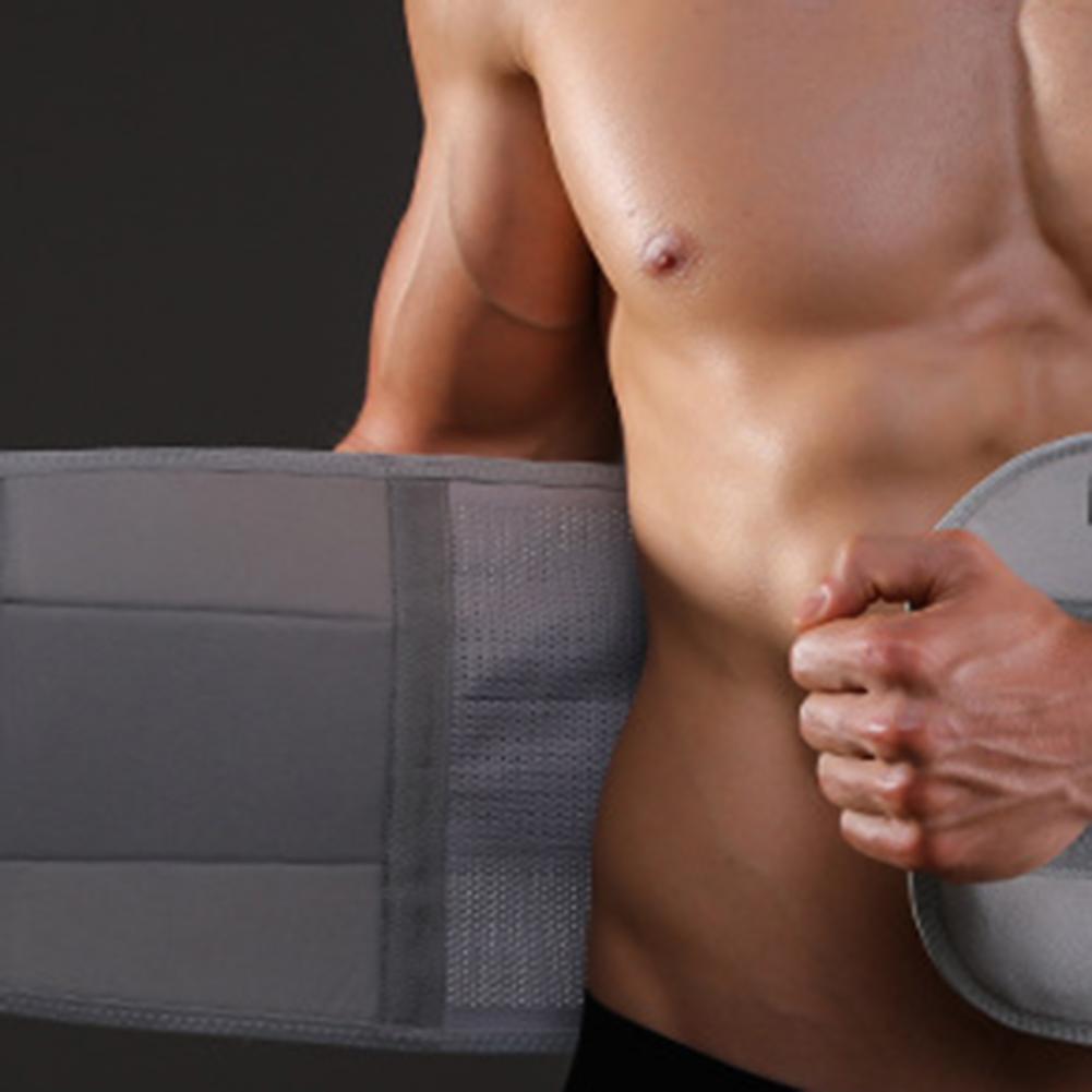 Waist Support Belt Back Waist Lumbar Support Widened Balanced Pressure Men Lightweight Waist Support